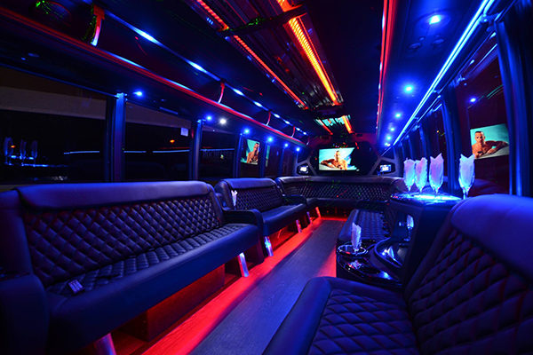 40 Person Party Bus Rental San Antonio