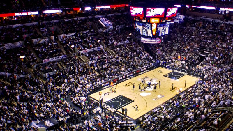 Party Bus Service San Antonio Spurs AT&T Center