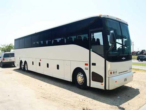 San Antonio 56 Passenger Charter Bus